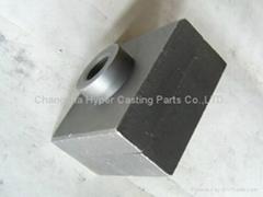 HRC63 Laminated chrome carbide hammer tips for Sugar mills