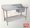 Stainless Steel Sink Bench for
