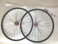 38mm carbon tubular road bike wheelsets with Novatec hub