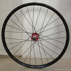 700C 60mm Carbon Clincher Road Bicycle Wheels