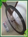 700C 50mm Clincher Carbon Wheels Novatec