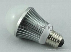 5w CE RoHS LED candle bulb