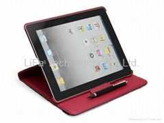 leather case for ipad2, the new ipad