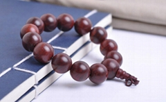 lobular rosewood prayer beads/rosary 1.6cm*13/