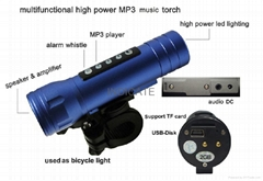 Multifunctional Magic Music Torch For iPhone4S,Samsung Salaxy,Nokia