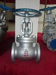 Cast  Steel Globe Va  e