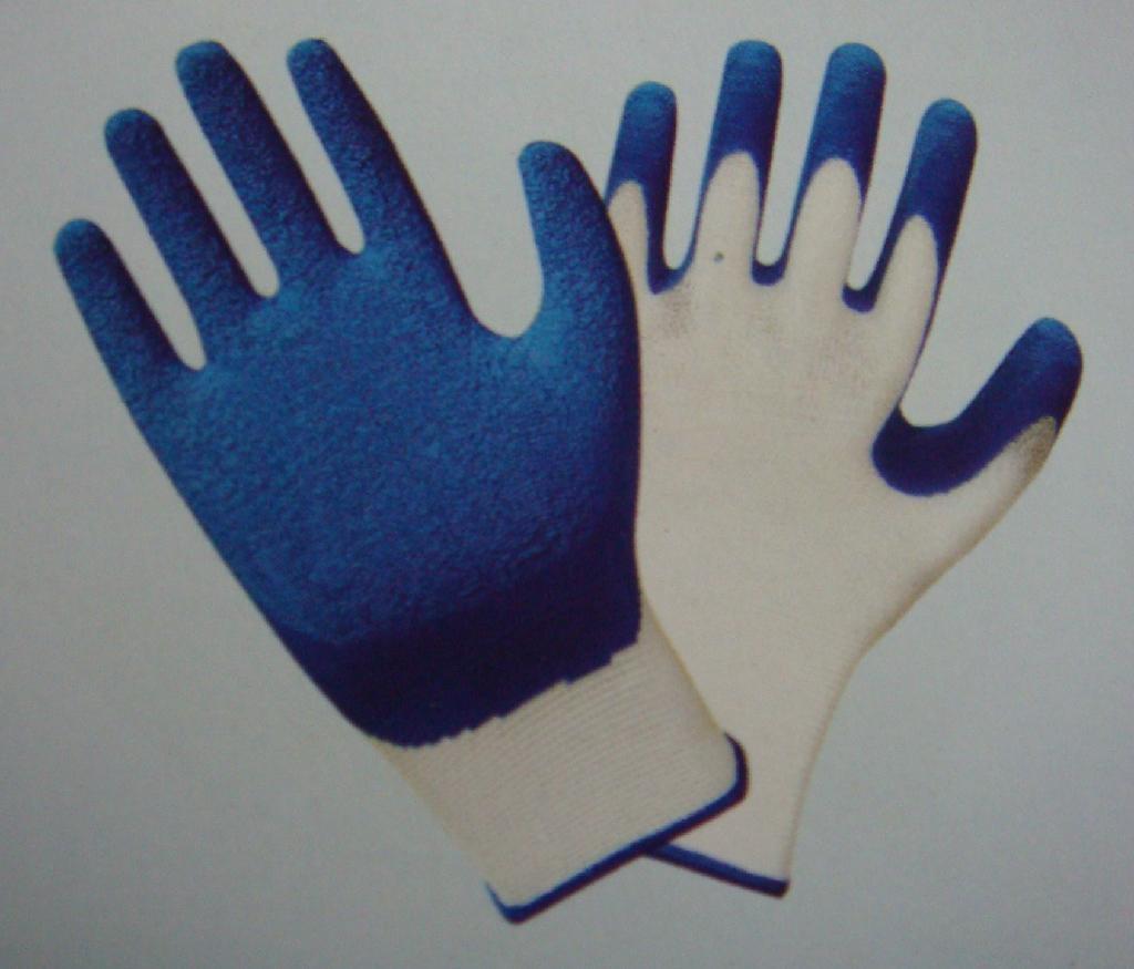 13g Polyester Shell,Latex Coating,Crinkle  3