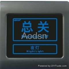 Hotel  touch panel light switch