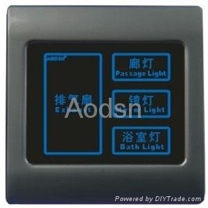 Hotel  touch panel light switch 3