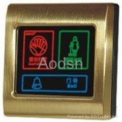 Hotel doorbell touch panel