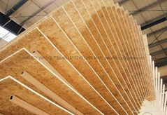 OSB (Oreinted Strand Board)