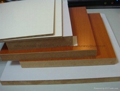 melamined MDF with high quality for furniture decoration