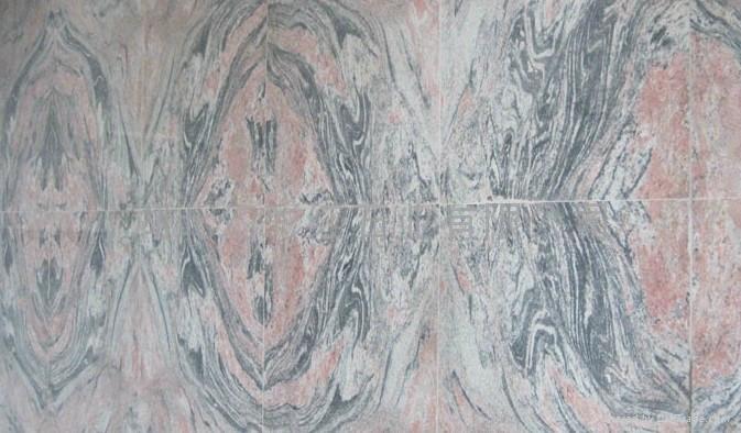 幻彩红花岗岩板材 5