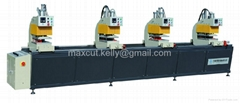 Four-head Pvc welding machine