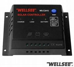 WELLSEE solar controller WS-C2415 15A 12V/24V