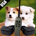 3 DOGS Rechargeable Electronic Pet Dog Training Three Collar Remote