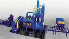 Q69系列鋼板型材拋丸清理機