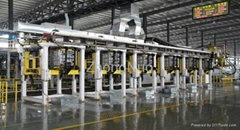 Linear Cabinet Foaming Line