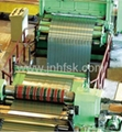 cnc steel sheet recoiler slitting line machine