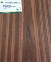 Engineered veneer walnut