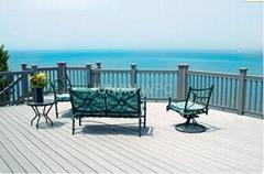 WPC wood plastic composite outdoor decking