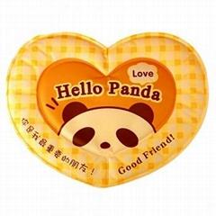 心形黄色熊猫