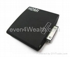 HDMI 1080p to TV Adapter Dock For Apple iPad iPhone4 iPod Touch 4