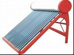Non-Preesure solar water heater for home