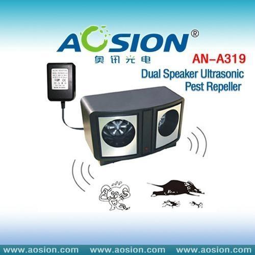 Dual Speaker Ultrasonic Pest Repeller 1