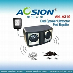 Dual Speaker Ultrasonic Pest Repeller