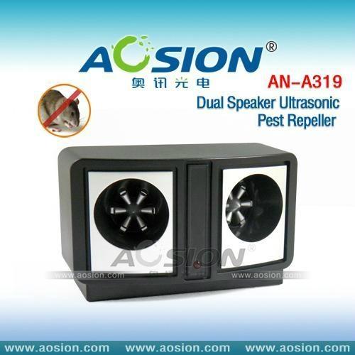 Dual Speaker Ultrasonic Pest Repeller 2
