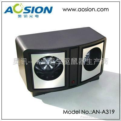 Dual Speaker Ultrasonic Pest Repeller 3
