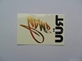 Gold Foil Transfer Temporary Tattoo Stickers 5