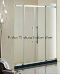 Bath screen, Clean shower screen-Danfengbailu XH-8848