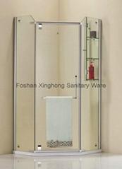 Diamond type shower enclosures/ New style shower enclosures