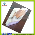 offset printing folding box for bra