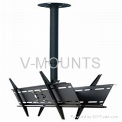 Hot Double LCD TV Ceiling Mount