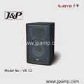 12 inch active speaker for stage MP3 speaker with ECHO effect 4