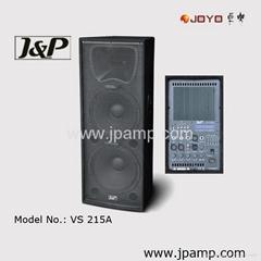Active Dual 15 inch stage speaker box loudspeaker box