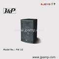 10/12 inch stage speaker