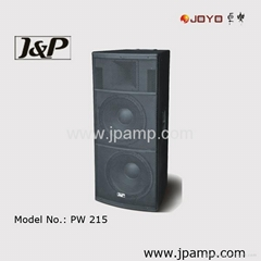 Passive Dual 15 inch stage speaker box