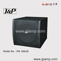 Daul 18 inch Club Subwoofer powered