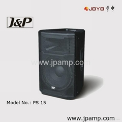 15 inch branded painting wooden PA speaker