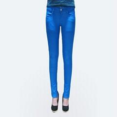 2012 new stlye hot sale blue slim lady jeans