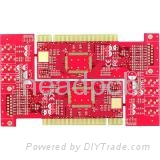 4 Layer Gold fingers PCB  1