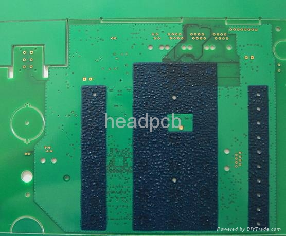 4 Layer 3oz Peelable Mask PCB  1