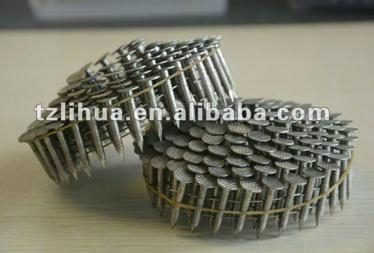 ... Ring Shank Stainless Steel Coil Nail 2 ...