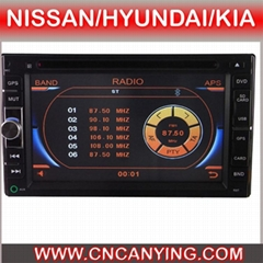 Special Car DVD Player for NISSAN/HYUNDAI/KIA(CY-7016)