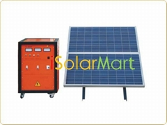 Off grid home solar system