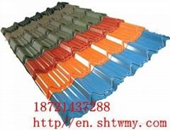 Color steel glazed tiles